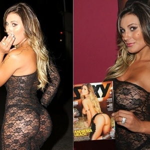 Andressa Urach E Dan Arina Do Latino Vice Miss Bumbum Bol Fotos
