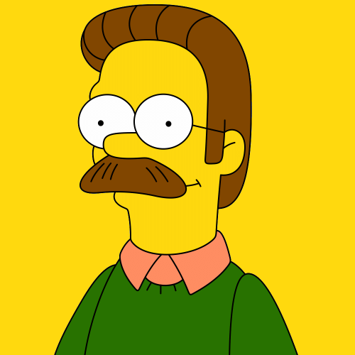 Ned Flanders - Os Simpsons