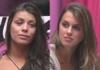 """Angela e Franciele formam o 11º paredão do """"BBB14"""". Quem deve sair? - Reprodução/Globo"""