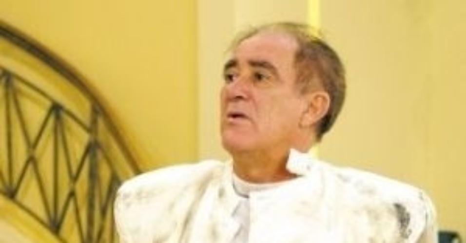 """2003 - O humorista Renato Aragão no programa """"A Turma do Didi"""", da Rede Globo"""