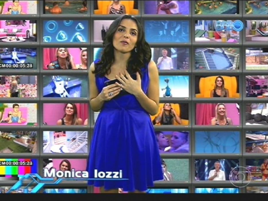 1º.abr.2014 - Mônica Iozzi comenta bizarrices dos brothers