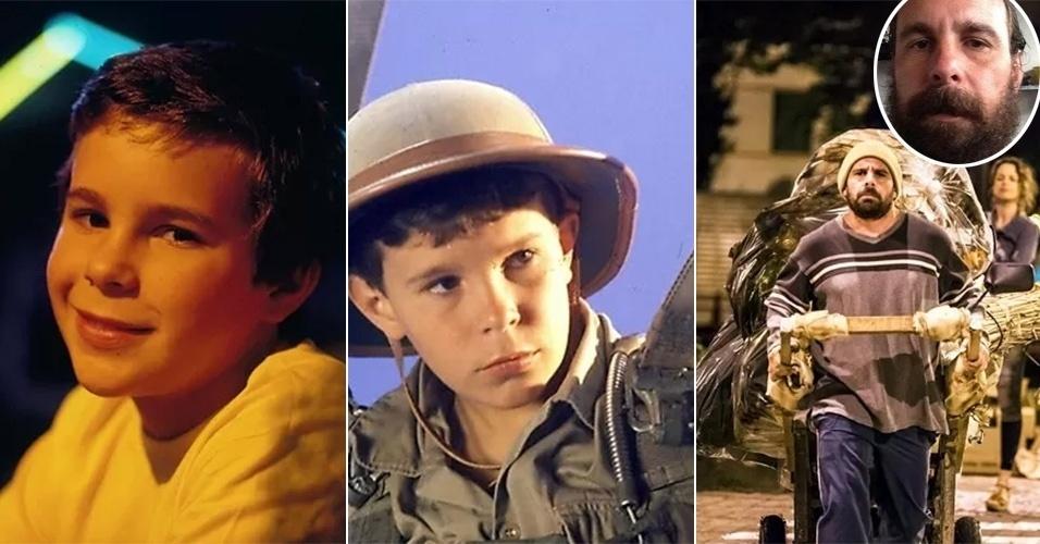 """25.jun.2014 - Jonas Torres, 40, agitava as tardes na telinha quando aparecia em """"Armação Ilimitada"""", série global dos anos 80, na pele de Bacana. Após 16 anos longe da TV - ele também atuou em """"Top Model"""" (1989), """"Vamp"""" (1991) e """"Malhação"""" (1998) -, o ator está de volta e vai viver um catador de lixo em """"Império"""", próxima novela das 21h. """"Ainda estou descobrindo o personagem, mas sei que o Ismael é uma pessoa sofrida com a vida"""", falou Torres aos site GShow. No tempo em que ficou fora da TV, o ex-galã mirim constituiu família, trabalhou com aviação nos EUA e se dedicou ao teatro. O ator também comemorou o novo papel.  """"Essa desconstrução é maravilhosa, muito boa para mim. O seriado marcou muito e as pessoas ainda se lembram do Bacana"""", disse o ator"""