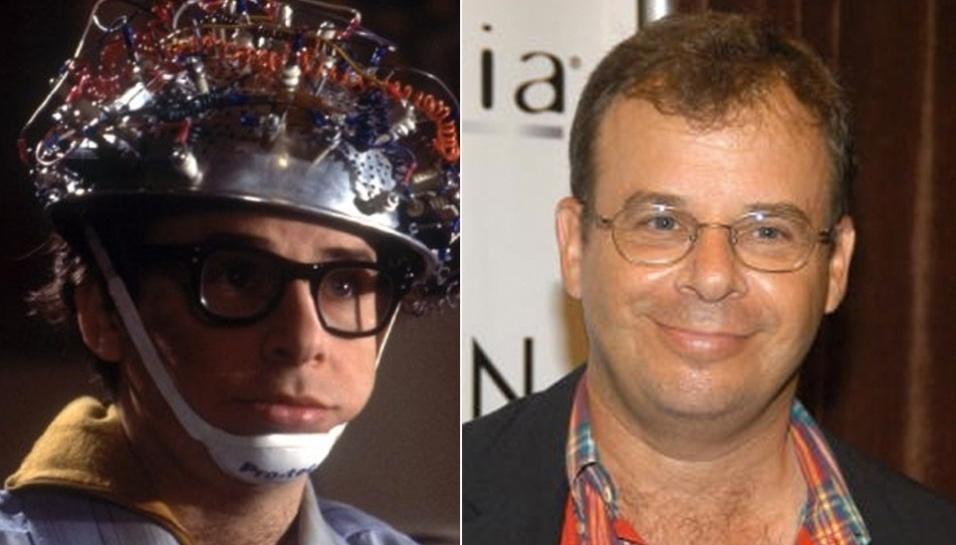 """9.jul.2014 - Rick Moranis - O ator e comediante canadense Rick Moranis viveu o atrapalhado Louis Tully em """"Os Caça-Fantasmas"""". Rick acabou virando a estrela de outro filme de ficção científica/comédia: """"Querida, Encolhi as Crianças"""" (1989)"""