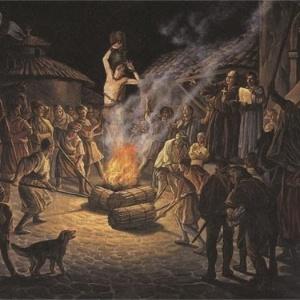 A fogueira foi uma das práticas mais usadas para condenar hereges à morte na Europa medieval