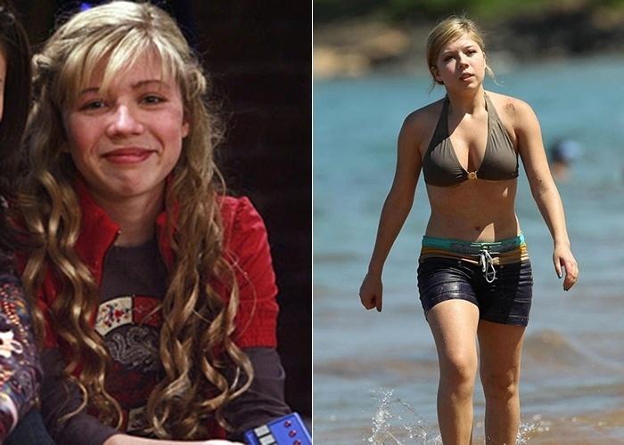 """16.set.2014 - Aos 22 anos, Jennette McCurdy, que tinha 15 anos quando interpretou a Sam no seriado norte-americano """"iCarly"""", também chama a atenção dos paparazzi, principalmente em suas idas à praia, onde exibe a boa forma de biquíni"""