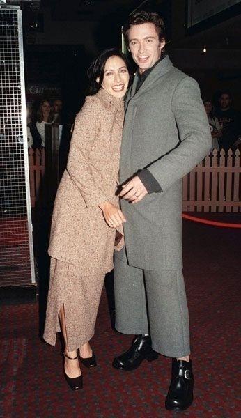 Década de 90: o ator Hugh Jackman aparece com look bizarro
