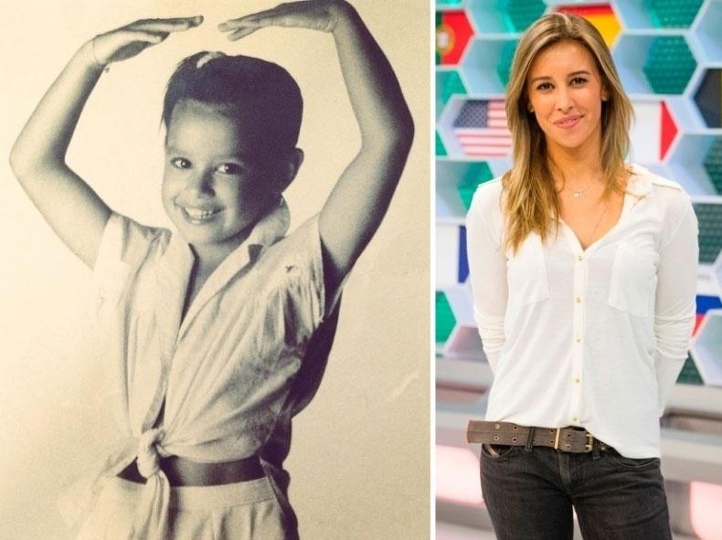 12.out.2014 - A jornalista Cris Dias também postou uma foto de quando era criança