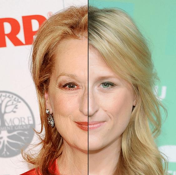Mami Gummer (dir.), que também é atriz,  poderia interpretar o mesmo papel que a mãe, Meryl Streep. Gummer tem olhar e sorriso marcante, como a veterana do cinema