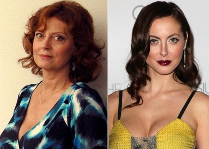 Na imagem, Susan Sarandon (esq.) e a filha, também atriz, Eva Amurri Martino