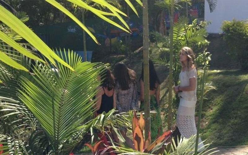 28.out.2014 - Sasha participa do evento que comemora os 25 anos da Fundação Xuxa Meneghel. A instituição, mantida por Xuxa, atua na defesa e proteção dos direitos da criança e do adolescente, em Pedra de Guaratiba, na Zona Oeste do Rio de Janeiro