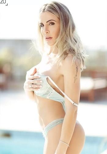 15.dez.2014 - A modelo Joana Machado, vencedora da quarta edição do reality