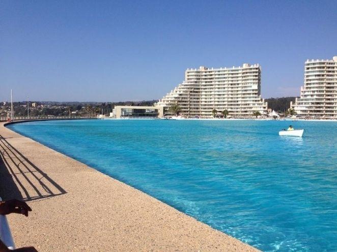 maior piscina do mundo tem 1 km de comprimento e fica no
