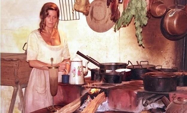 A atriz Vera Fisher, em cena da primeira fase de O Rei do Gado, no papel de Nena