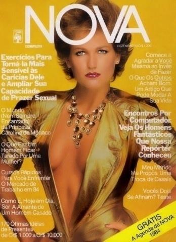 2.abr.2015 - Quem diria! Xuxa aparece superdecotada nesta capa da revista Nova