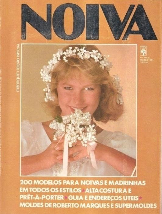 2.abr.2015 - Uma edição especial de casamento da editora Abril traz Xuxa vestida de noiva
