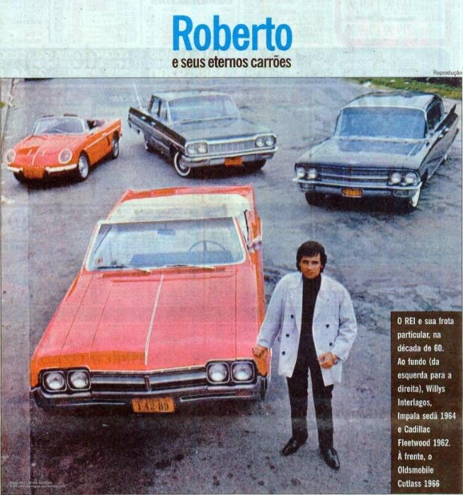 Ostentação! Confira Os Carros Do Rei Roberto Carlos