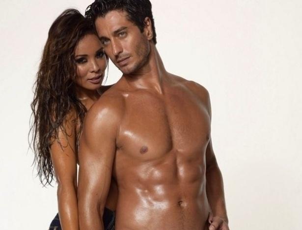 13.abr.2016 - O modelo André Resende já posou para grife com a modelo Carol Nakamura