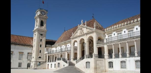 A Universidade de Coimbra é uma das mais antigas de Portugal