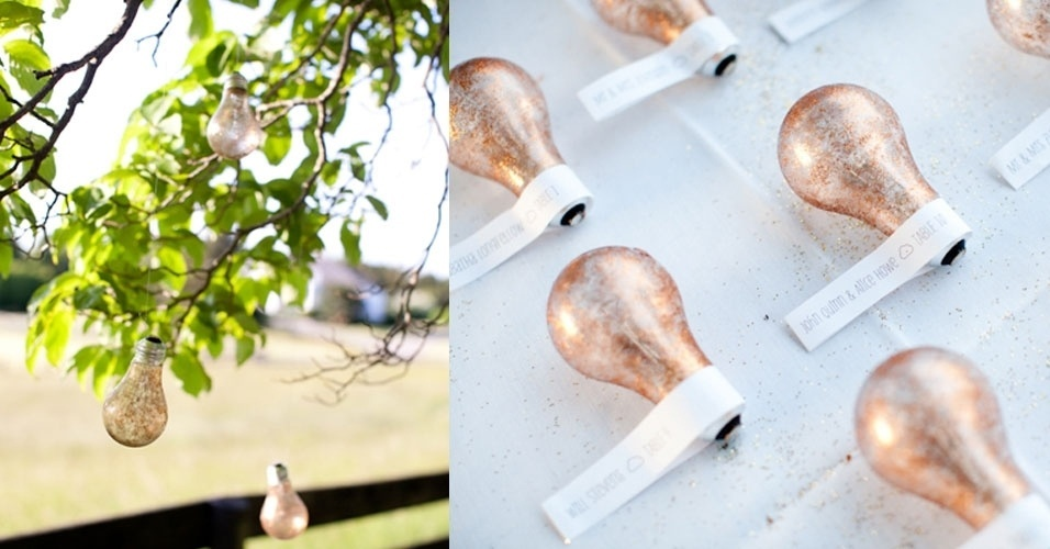 decoracao para lampadas : decoracao para lampadas:ideia, inclusive para decoração de Natal, é misturar lâmpadas de