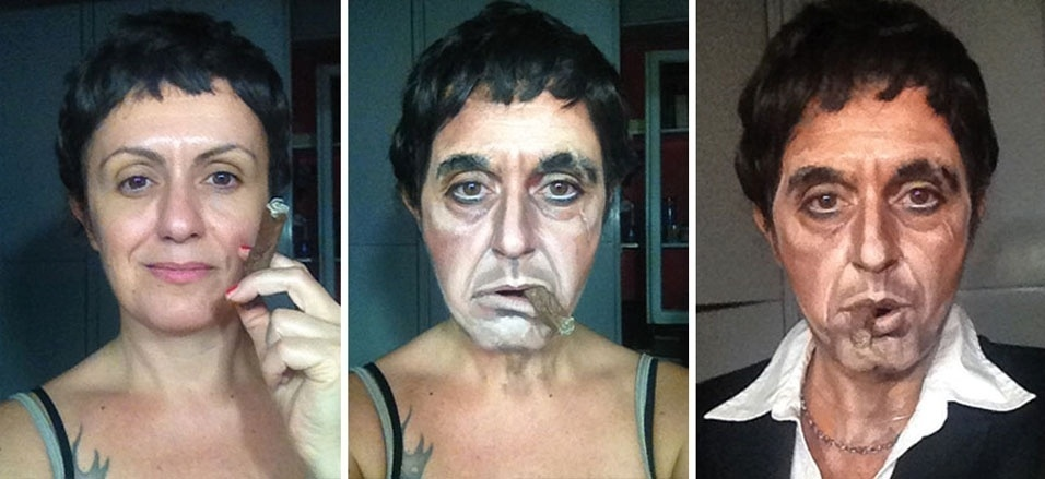 """8. Al Pacino como Tony Montana em """"Scarface"""""""