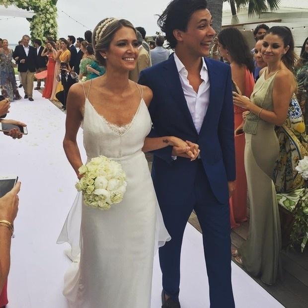 28.mai.2016 - Helena Bordon e Humberto Meirelles