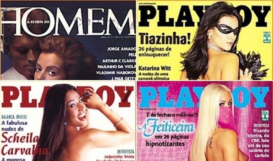 """19.nov.2015 - A editora Abril anunciou nesta quinta-feira (19) que, depois de 40 anos, deixará de publicar a revista Playboy no Brasil. Além da revista masculina, a empresa cancelou as publicações """"Men's Health"""" e """"Women's Health"""". Em outubro, a editora da edição norte-americana da revista já tinha anunciado que, a partir do começo de 2016, a Playboy vendida nos EUA não teria mais ensaios com mulheres nuas"""