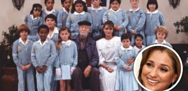 Imagem mostra integrantes da novela 'Carrossel'
