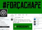 Palmeiras quer jogar com camisa da Chape. Corinthians pinta site de verde - Reprodução/Twitter