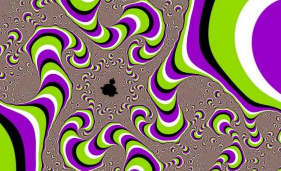 2.fev.2016 - Assim como a imagem dos círculos, nessa foto não há nada se mexendo. O truque vem da maneira que nossos cérebros digitalizam as imagens