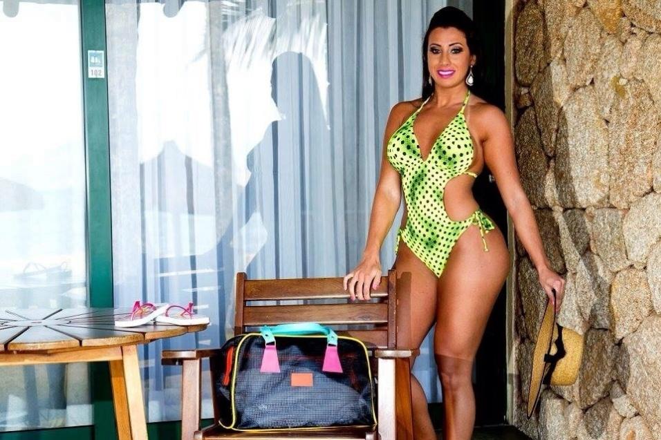 15.dez.2015 - Thais Eid foi eleita Musa do Brasil concorrendo com outras 26 beldades em concurso realizado em São Paulo