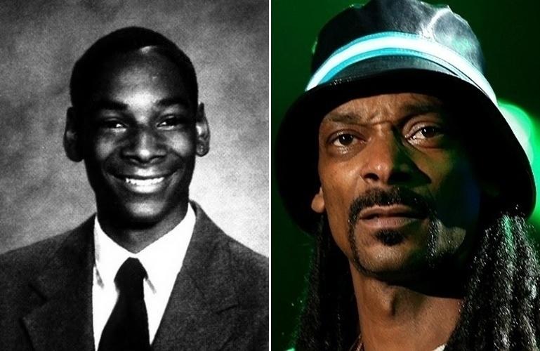 27.jul.2015 - Antes e depois de Snoop Dogg