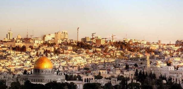Jerusalém, em Israel, é um dos locais mais importantes para os cristãos