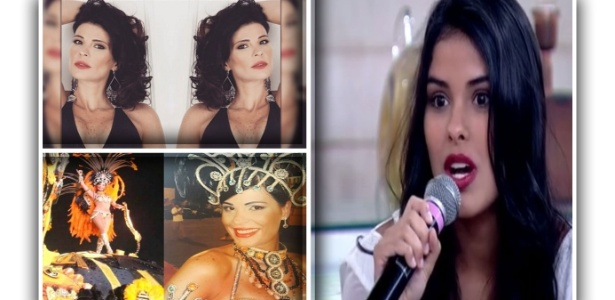 8.abr.2016 - Lucciana Farah (esq.), mãe de Juliano, chama atenção por sua beleza nas redes sociais e semelhança com a vencedora do Big Brother Brasil 16
