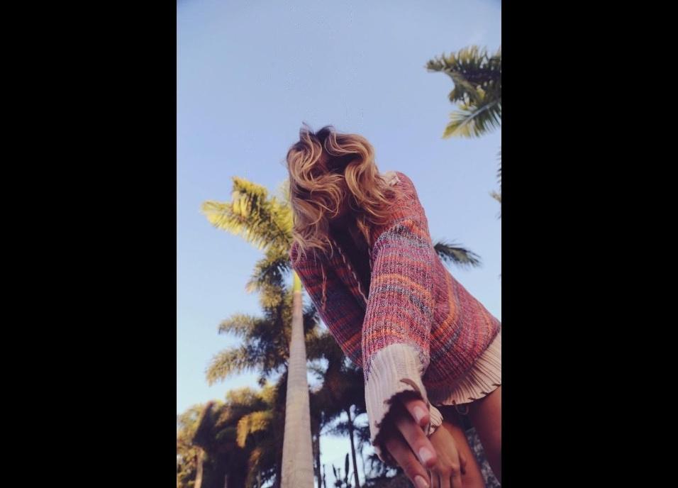 28.abr.2016 - Sasha posa para foto no Instagram