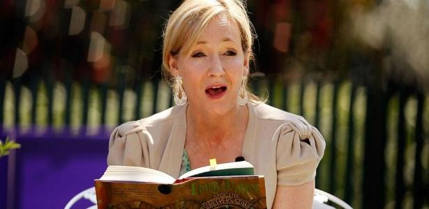 """A escritora J.K. Rowling, criadora de """"Harry Potter"""""""