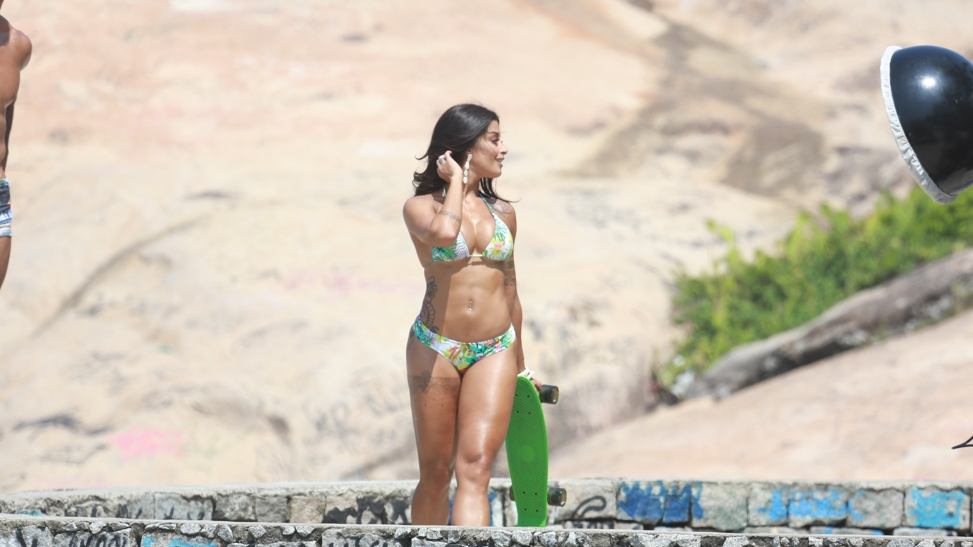 9.mar.2016 - Aline Riscado, nova integrante do programa