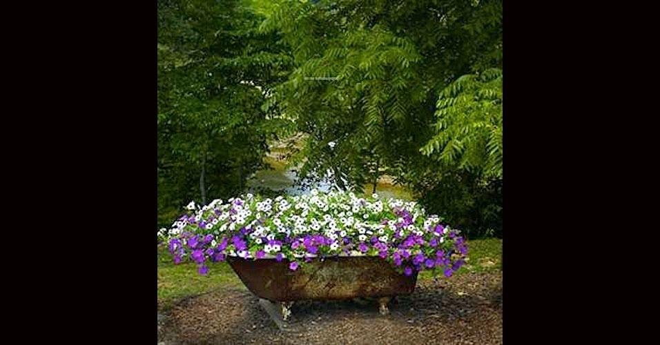plantas de jardim lista : plantas de jardim lista: sua avó também pode virar um lindo detalhe com plantas em seu jardim
