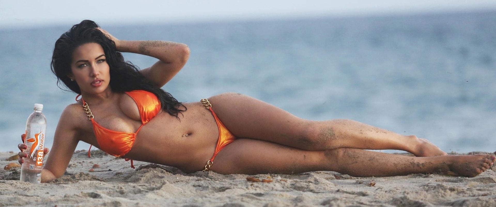 23.out.2015 - Norte-americana, Nasia Jansen é playmate da revista Playboy