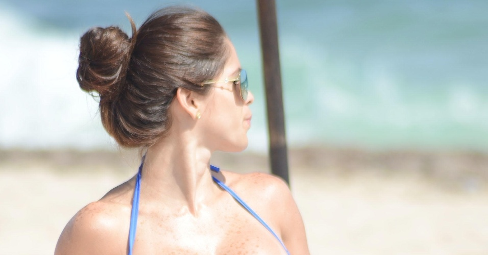 19.jun.2015 - Michelle tem 29 anos e é dona de um corpo escultural. A morena tem mais de 4 milhões de seguidores no Instagram