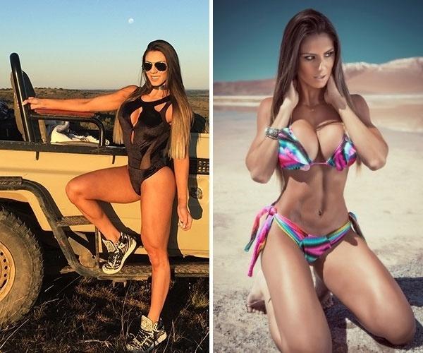 29.out.2015 - Apesar da exigência para sempre manter o corpo em forma, a modelo Carol Saraiva mostra que só isso não é o bastante: