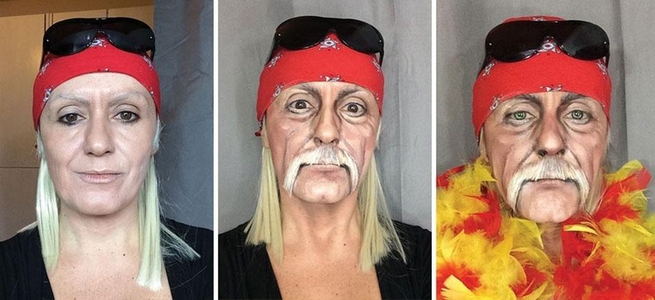 2. O lutador de luta-livre Hulk Hogan