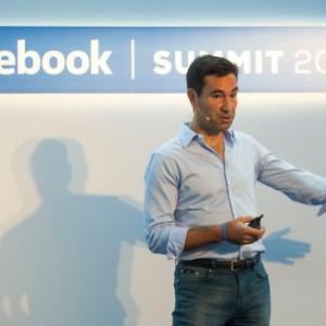 O vice-presidente do Facebook na América Latina, Diego Dzodan