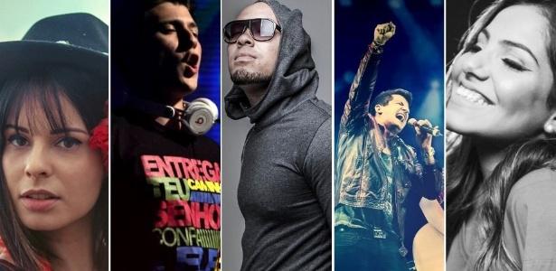 DJ Matheys Lazaretti, André e Felipe, Megafone, Ton Carfi e Marcela Tais dão nova cara à música gospel