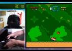 """Jogador vendado termina """"Super Mario World"""" em 17 minutos - Reprodução"""