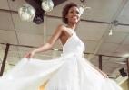 Costureiras mandam bilhete com vestido de noiva para valorizar mão de obra - Reprodução
