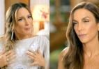 """Ivete repreende Claudia Leitte por plástica no seio: """"Vai ficar na orelha"""" - Montagem/Reprodução/GNT"""