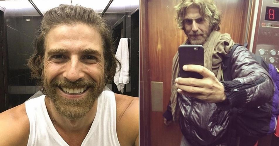 """Reynaldo Gianecchini muda o visual e fãs reprovam: """"Parece um mendigo"""""""