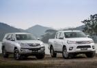 Toyota Hilux e SW4 flex 2017 - Divulgação