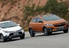 Chevrolet Onix Activ vs. Hyundai HB20X - Murilo Góes/UOL