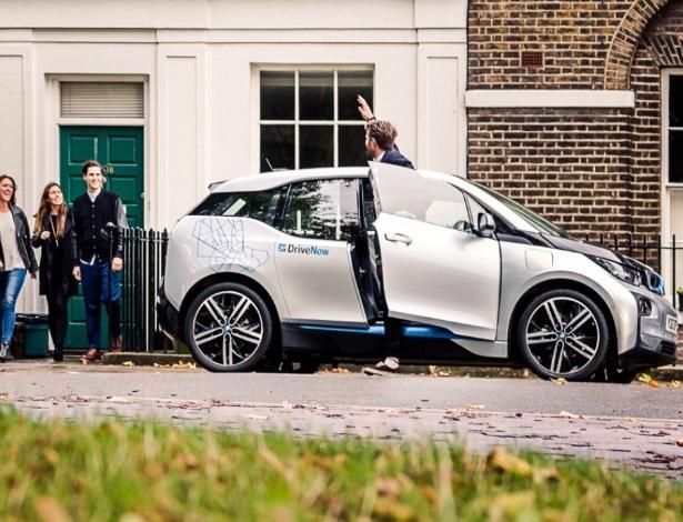 Carros livres do serviço DriveNow (da BMW e da locadora Sixty) poderiam ser usados para oferecer caronas a clientes quando não estivesse em uso